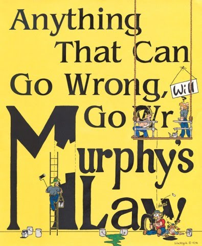 On Murphy's Law And My Nat-Geo Comeback Race