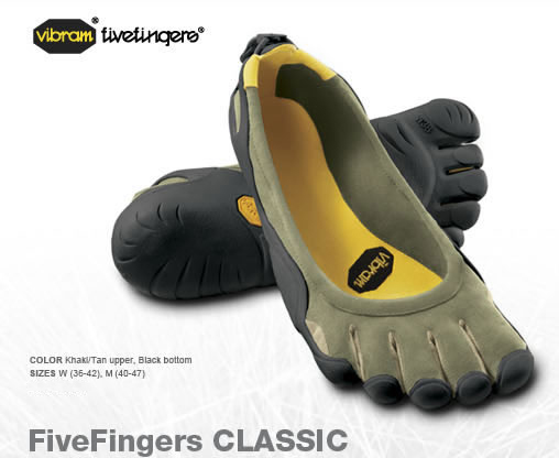 Vibram Five Fingers :Pure Hype Or The Real Deal?