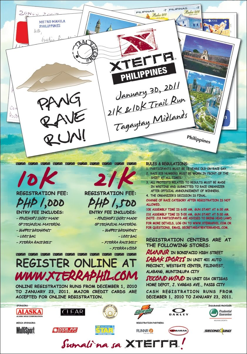 Xterra Pang Rave Run. Fun!