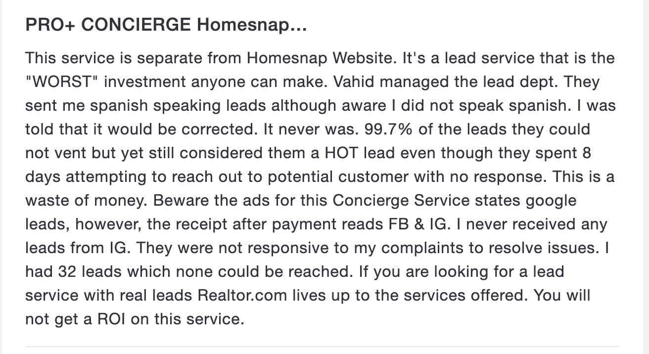 home snap pro plus review