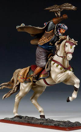 Genghis Khan and his Hawk