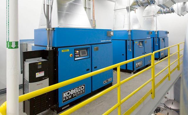 máy nén khí trục vít Kobelco