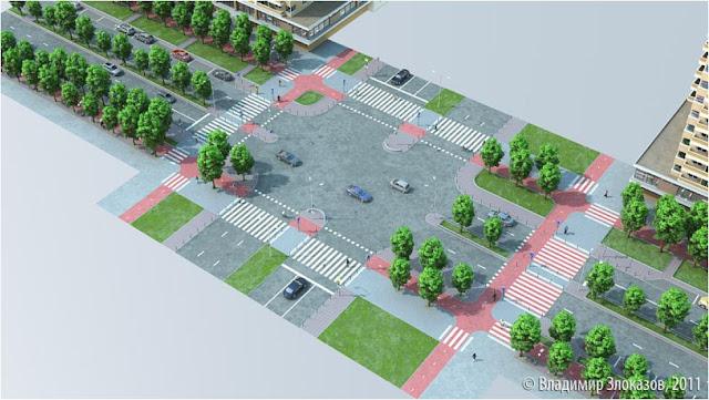 план велодорожки