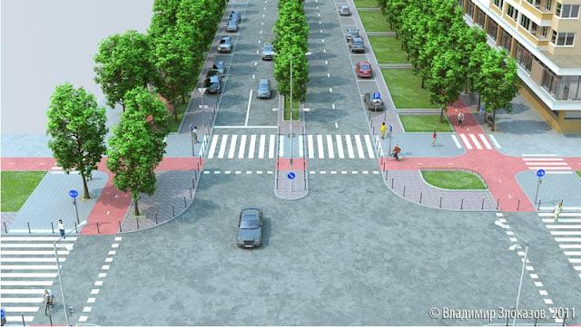 план велодорожек