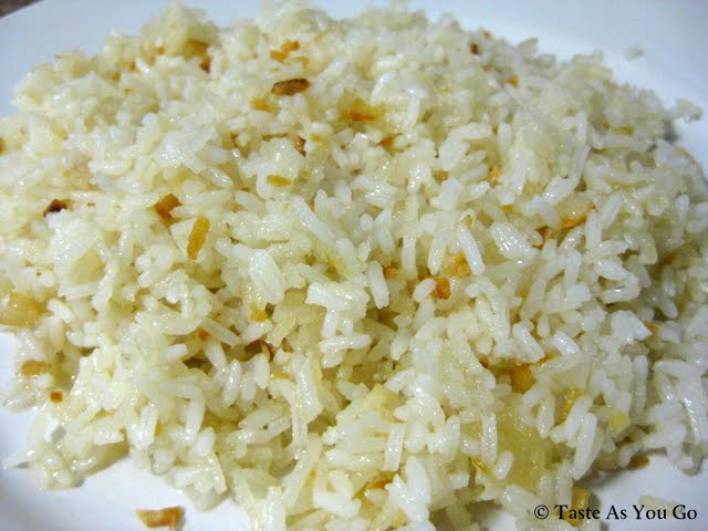 Garlic Fried Rice | Taste As You Go