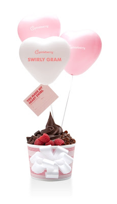 Pinkberry Swirly Gram - Cupid's Swirl - Image Courtesy of Ronstadt PR