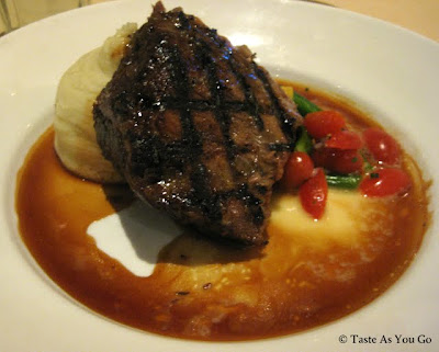 Hawaiian Kai Style Braised Short Ribs with Creamy Mashed Potatoes and Natural Braising Reduction at Roy's Orlando in Orlando, FL - Photo by Taste As You Go