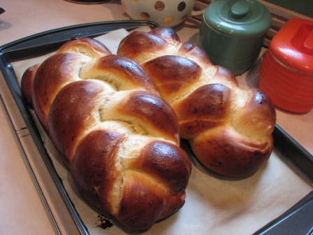 Homemade Challah Bread - Photo Courtesy of Hillary Kwiatek