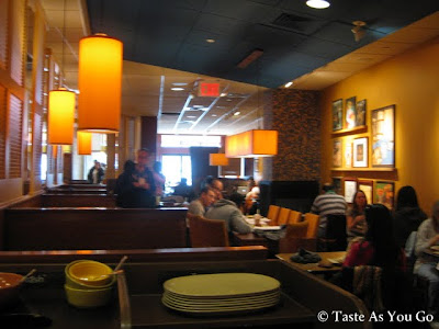 Interior of Panera Bread in Long Island City (Astoria), NY - Photo by Taste As You Go