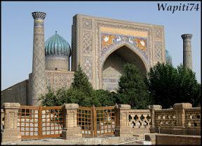 Sur les Routes de la Soie : Ouzbekistan et Tadjikistan - Page 3 134-Samarcande-Reghistan