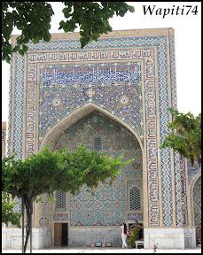 Sur les Routes de la Soie : Ouzbekistan et Tadjikistan - Page 3 149-Samarcande-Reghistan