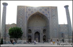 Sur les Routes de la Soie : Ouzbekistan et Tadjikistan - Page 3 155-Samarcande-Reghistan