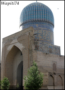 Sur les Routes de la Soie : Ouzbekistan et Tadjikistan - Page 3 159-Samarcande-BibiKahnoum