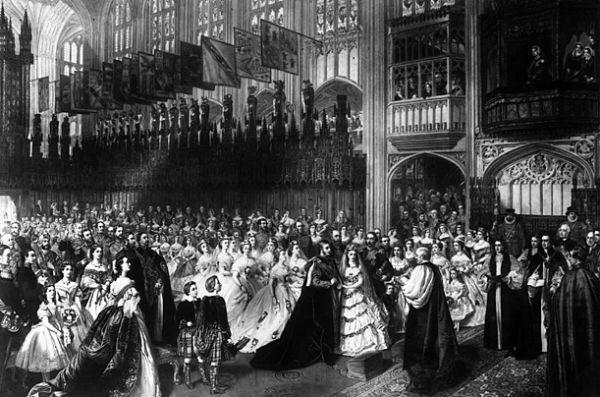 Edward VII dan Putri  Alexandra dari Denmark, 10 Maret 1863