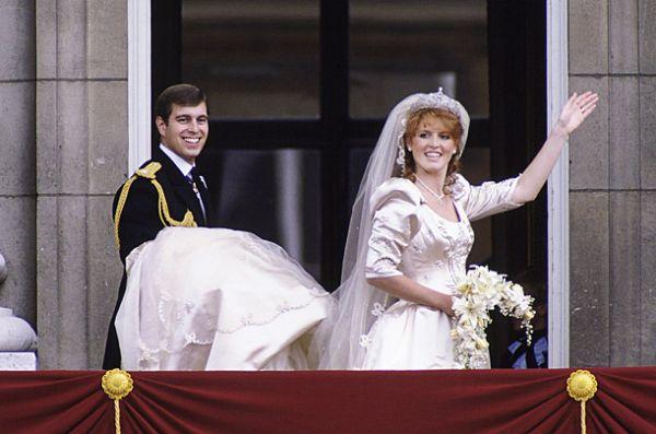 Pangeran Andrew dan Sarah  Ferguson, 23 Juli 1986