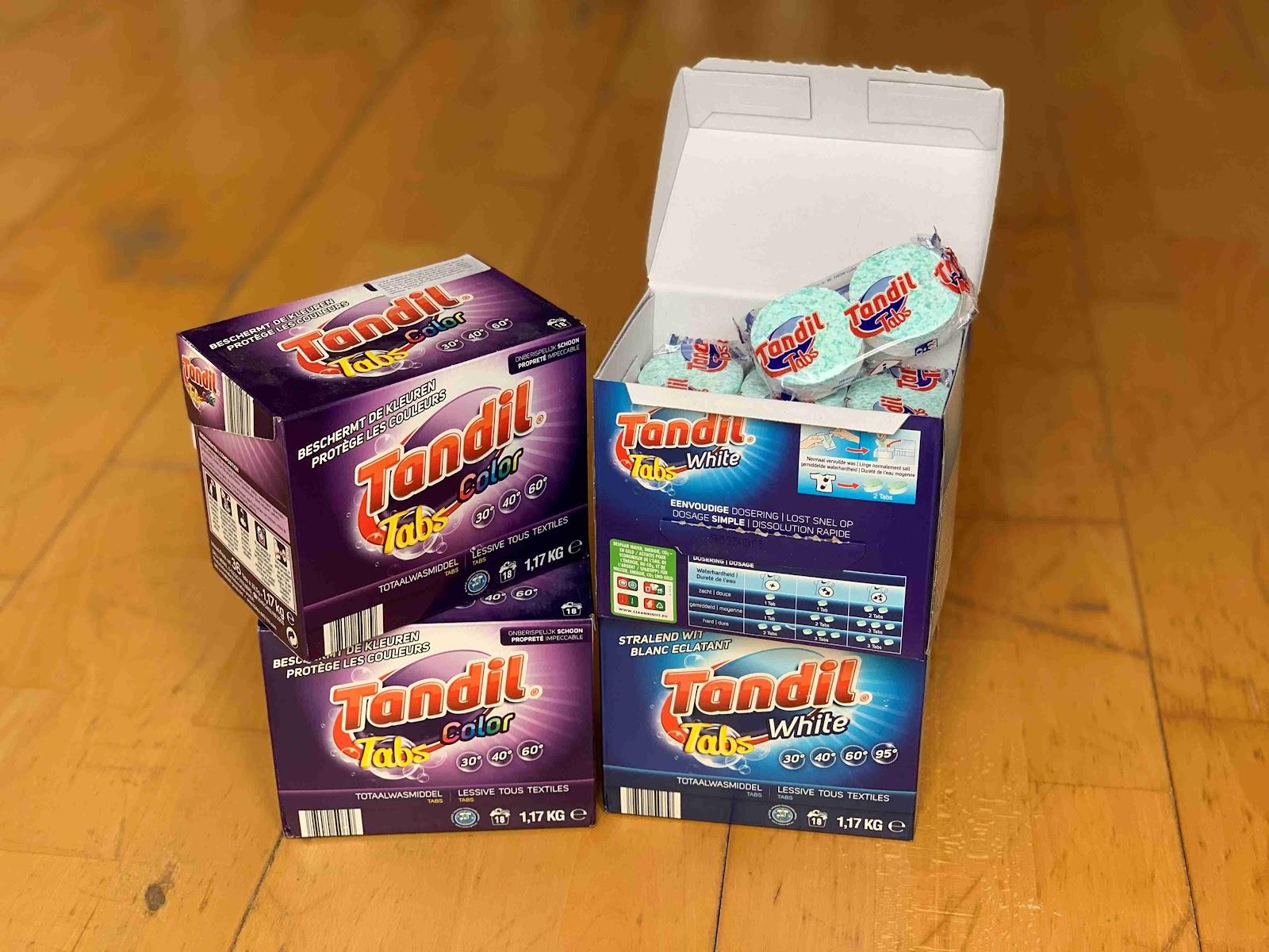Recenze Drogerie-Domu: Tandil tablety do pračky