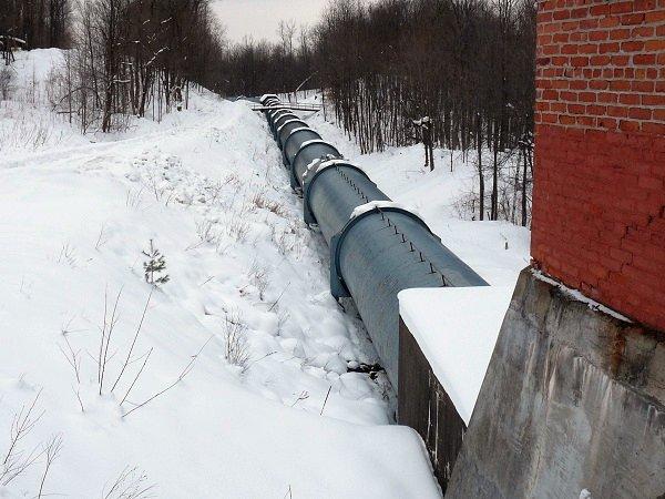 dam pipe