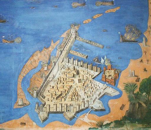 Revolutionary Program Old Tripoli Map