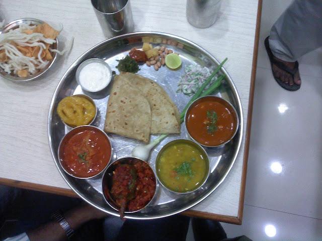 purepoor thaali veg