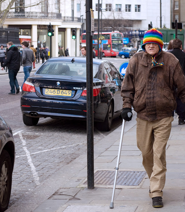 London. Old Man