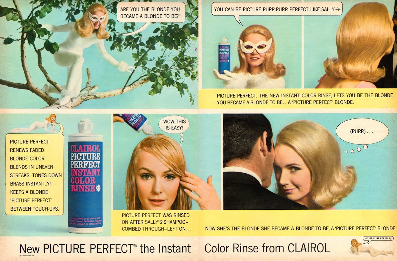Clairol Picture Perfect, 1966