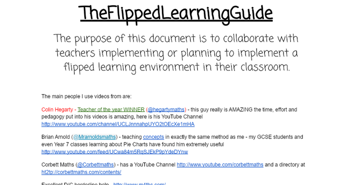 Flipped learning - how to implement into your teaching?