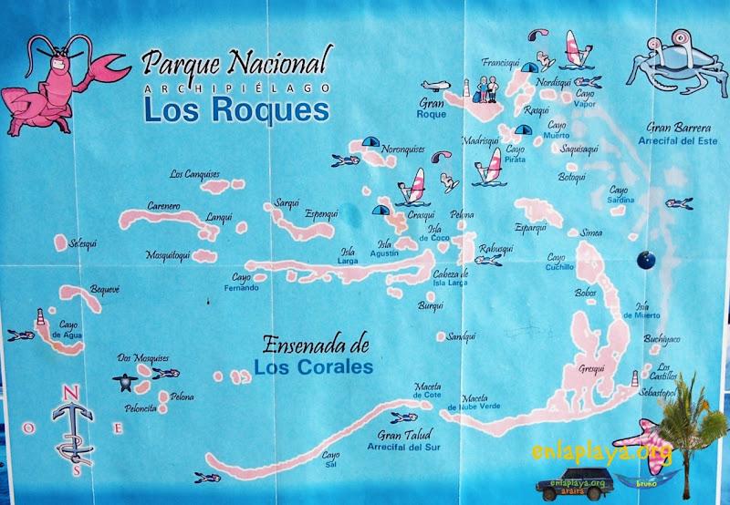 Playas de Los Roques