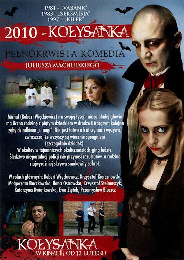 Tył ulotki filmu 'Kołysanka'