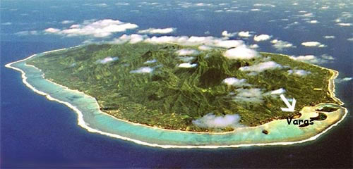 veras muri beach rarotonga cook island