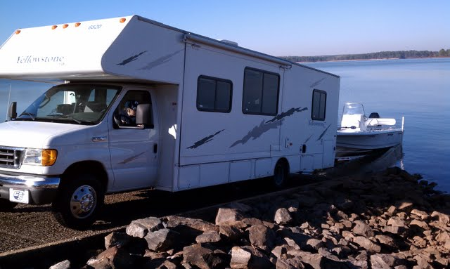 rv net open roads forum class c motorhomes boat launching with class c rh rv net Class C Hardware Super C Towing