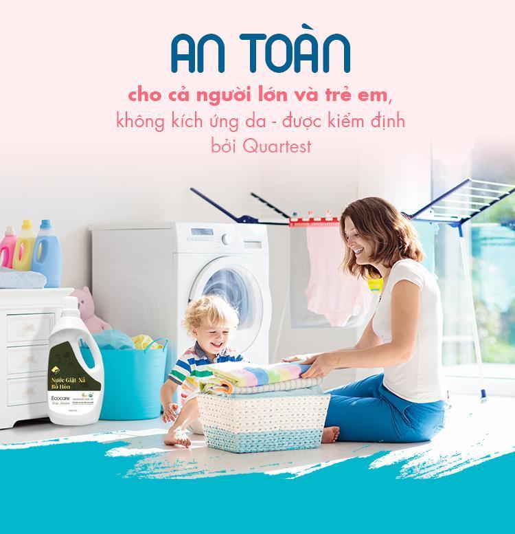 Địa chỉ bán nước giặt đồ em bé uy tín chất lượng