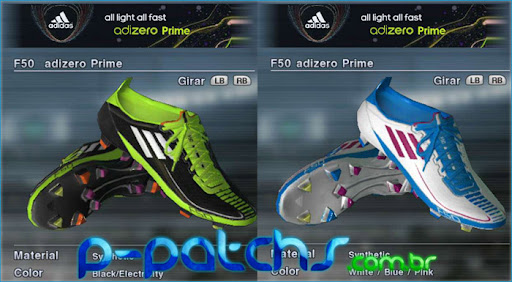 Chuteiras Adidas Adizero - PES 2011