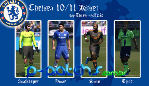 Chelsea Kitset 10-11 para PES 2011 PES 2011 download P-Patchs