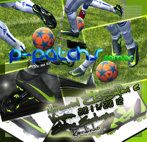 Nike Mercurial Superfly CR Safari II para PES 2011 PES 2011 download P-Patchs