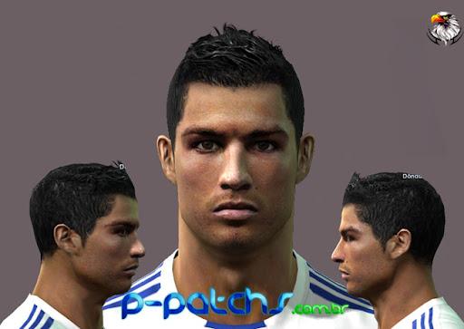 Cristiano Ronaldo Face para PES 2011 PES 2011 download P-Patchs