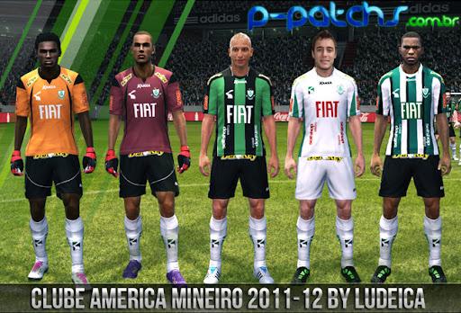 América MG Kitset 11-12 para PES 2011 PES 2011 download P-Patchs