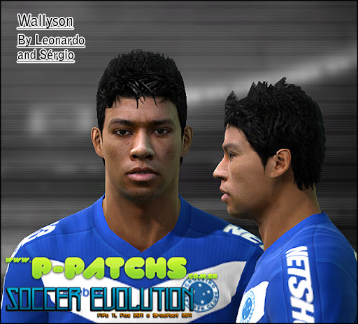 Wallyson Face para PES 2011 PES 2011 download P-Patchs