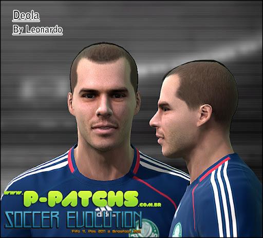 Deola Face para PES 2011 PES 2011 download P-Patchs