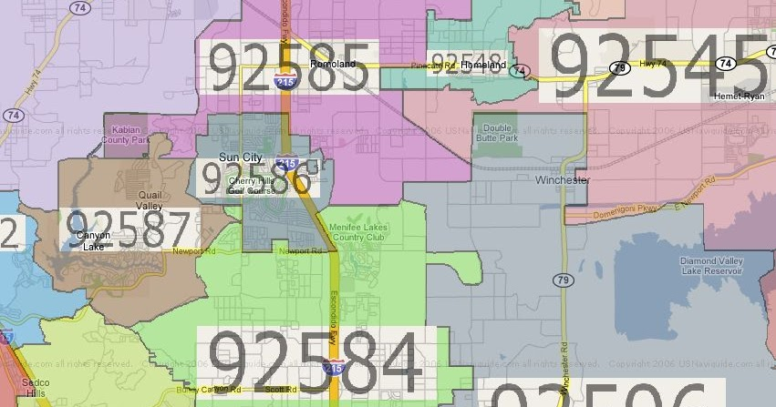 Folsom Ca Zip Codes Map | Zip Code MAP