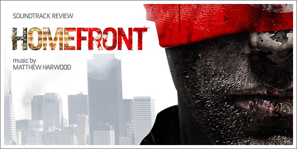 Homefront (Game Soundtrack) by Matthew Harwood - Reviewed
