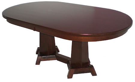 Turin Table in Ruby Walnut