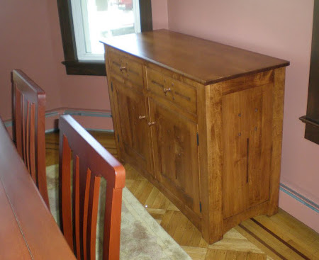 50 x 36 Florence Maple Buffet, Colonial Finish