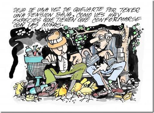 jubilados caricatura