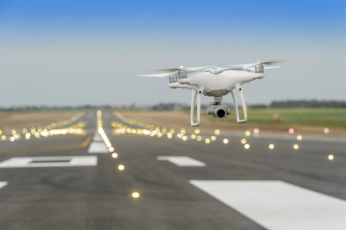 FAA drones in airports