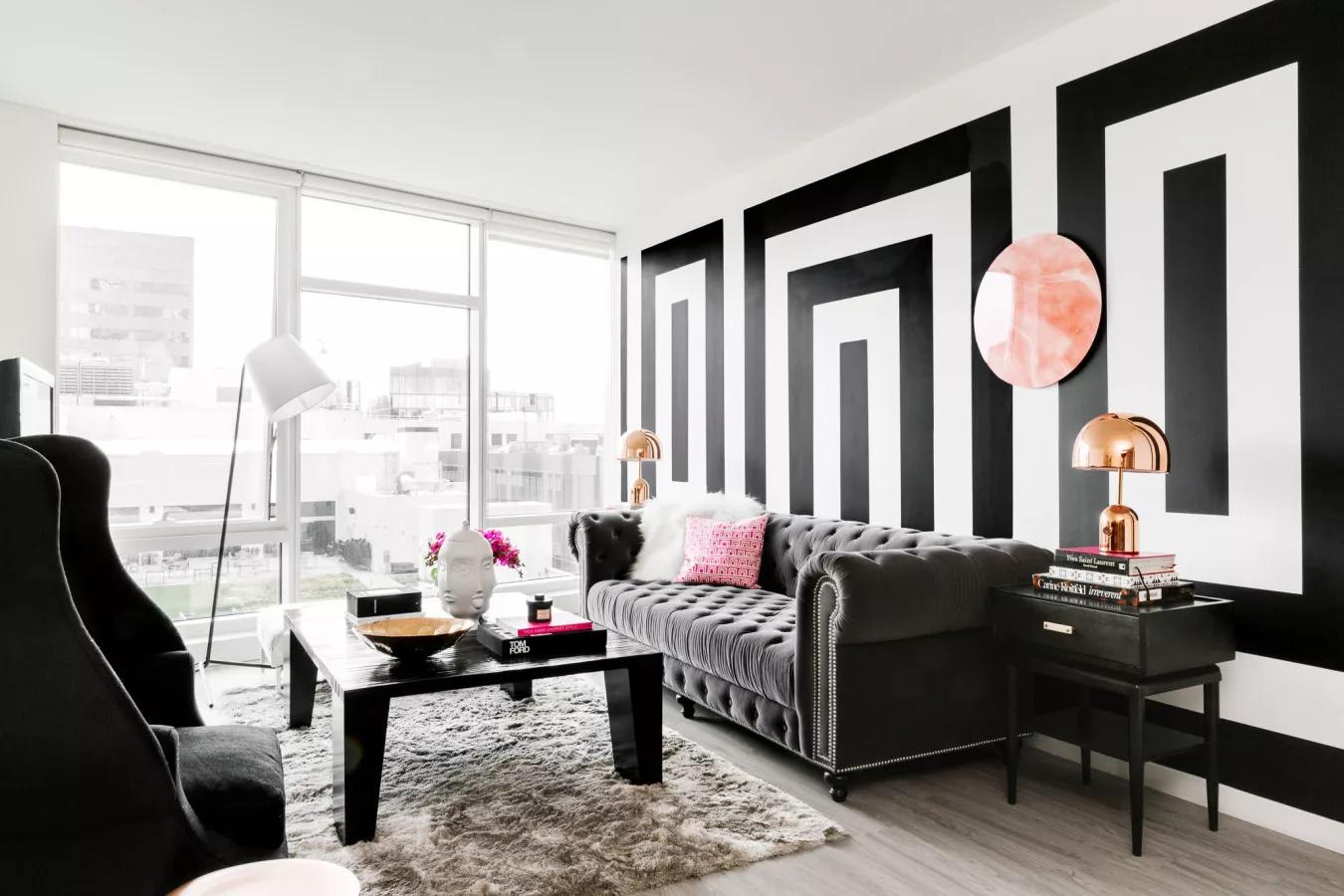 A boho living room style ideas