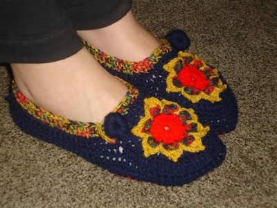 hacer pantuflas tejidas a crochet lindas y comodas pantuflas tejidas