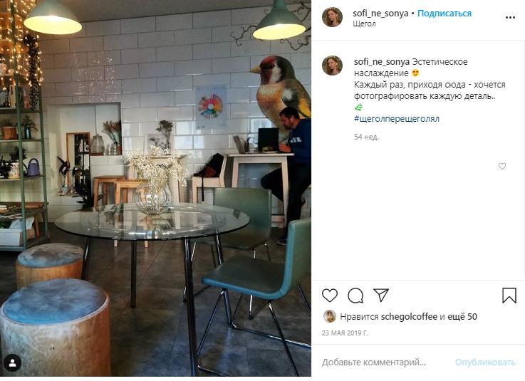 Кофейня Щегол глазами гостей