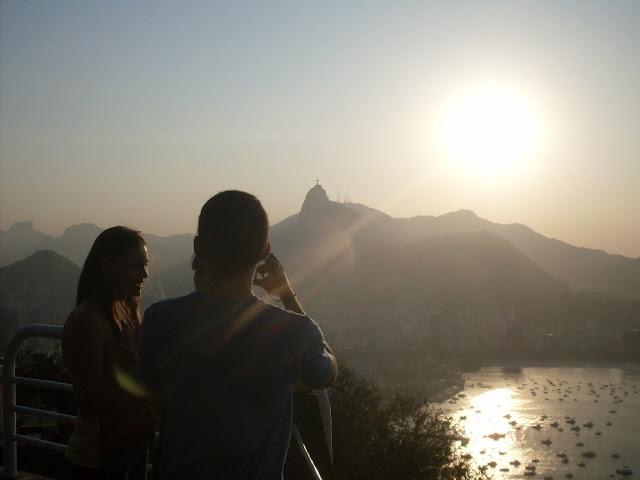 Pôr-do-Sol no Morro da Urca