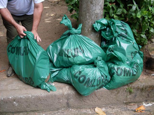 Lixo recolhido