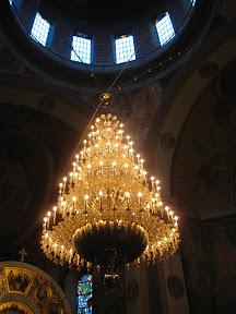 Żyrandol w cerkwi